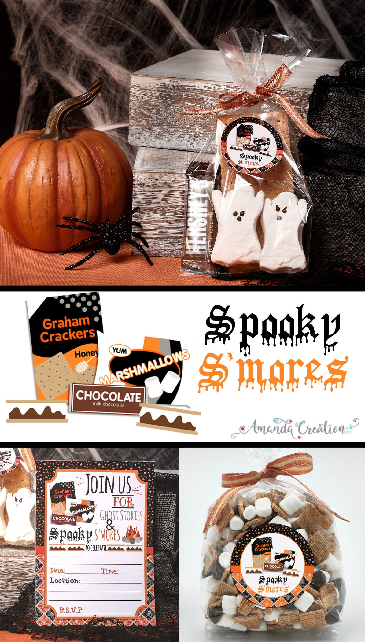 spooky s'mores