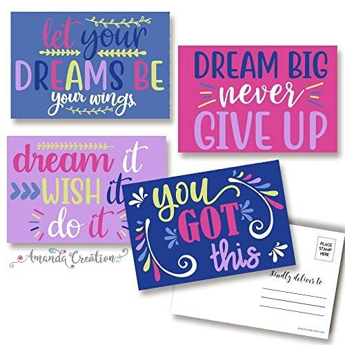 Dream Big Encouragement Postcards