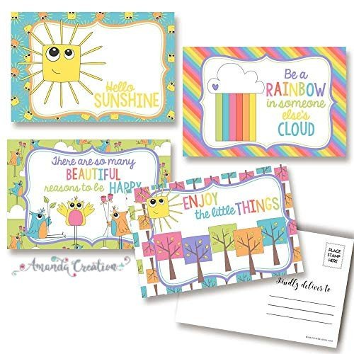 Encouragement Postcards Provide a Ray of Sunshine