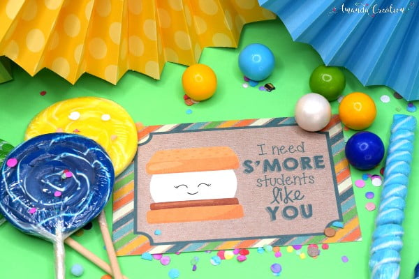 S'More Students Like You Card