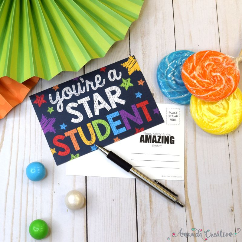 Star Student Postcards