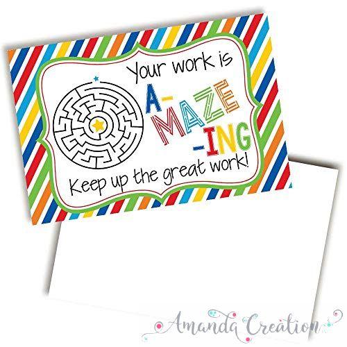 Your Work Is Amazing, Keep It Up Cards For Students