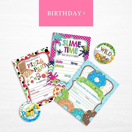 Shop Birthday Party Supplies