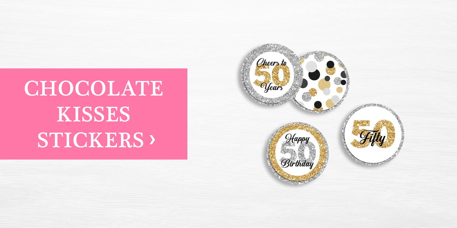 Chocolate Kisses Stickers