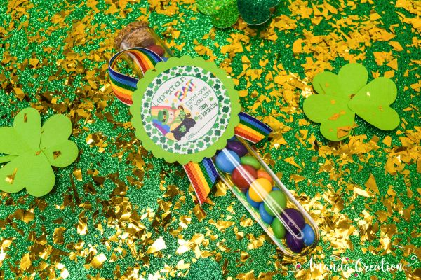 Cheerful St. Patrick's Day Stickers