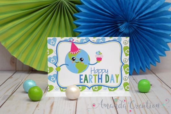 Happy Earth Day Postcards