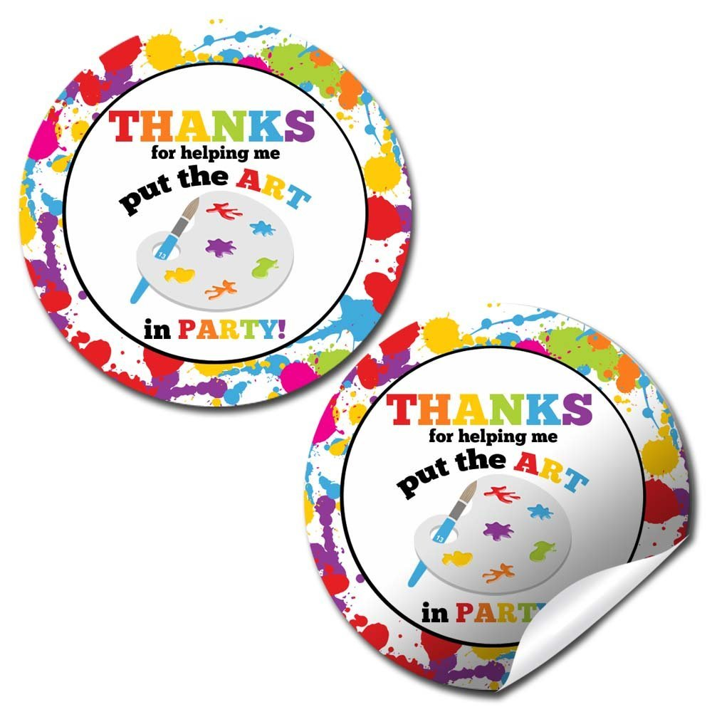 Art Painting Supplies Birthday Party