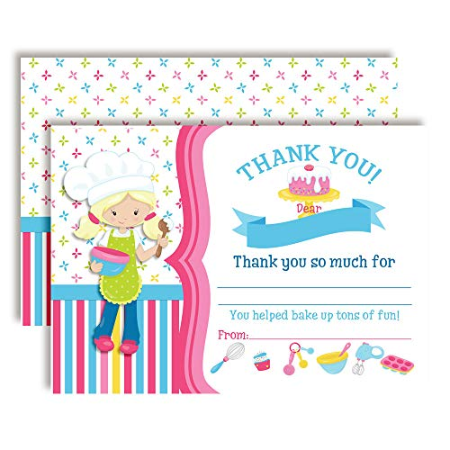 Cooking & Baking Thank You Cards