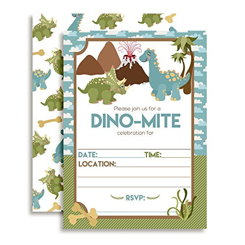 Dino Mite Dinosaur Birthday Party
