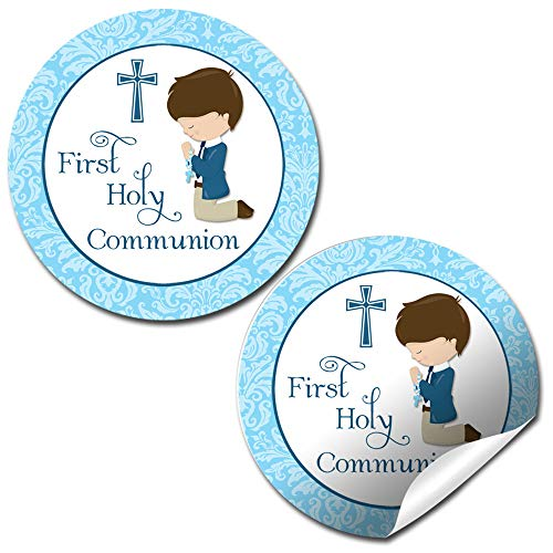 First Holy Communion Stickers (Boy)