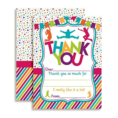 Jump & Play Thank You Cards